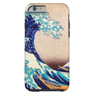 Große Welle weg von japanischem Vintagem Tough iPhone 6 Hülle