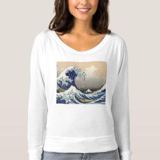 Große Welle weg von Kanagawa T-shirt