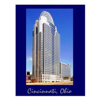 Großer amerikanischer Turm an der Königin-Stadt Postkarte