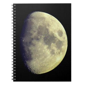 Großer ausführlicher Mond Notizblock