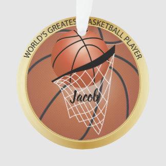 Großer Basketball-Spieler Ornament