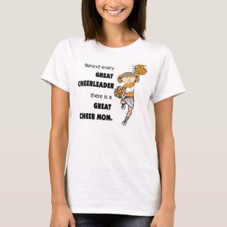 Großer Beifall Mamma-Orange T-Shirt