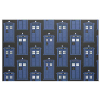 Großer blauer Polizei-Kasten-Gewebe Cosplay Stoff