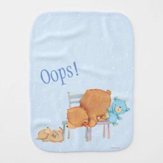 Großer Braunbär, Kaliko u. schlaffe Stühle des Baby Spucktuch