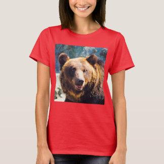 Großer Braunbär T-Shirt