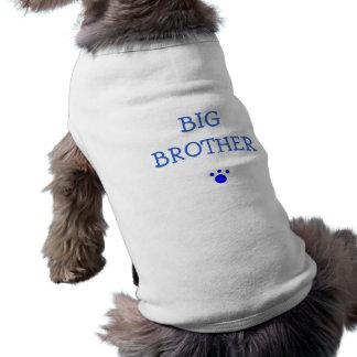 Großer Bruder Ärmelfreies Hunde-Shirt