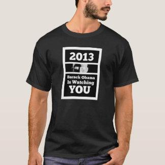 Großer Bruder (Barack Obama) passt Sie Satire auf T-Shirt