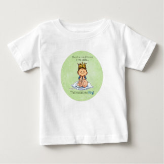 Großer Bruder - König von Prinzessin Baby T-shirt
