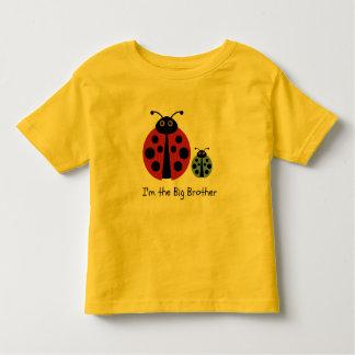 Großer Bruder-Marienkäfer-Shirt Hemd