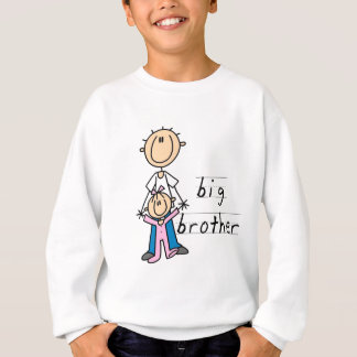 Großer Bruder mit Baby-Schwester-T-Shirts und Hemd