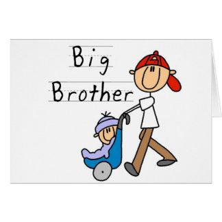 Großer Bruder mit kleinem Bruder Grußkarte