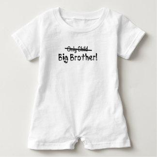 Großer Bruder (nur Kind heraus gekreuzt) niedlich Baby Strampler