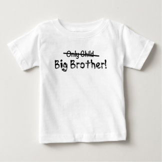 Großer Bruder (nur Kind heraus gekreuzt) niedlich Baby T-shirt