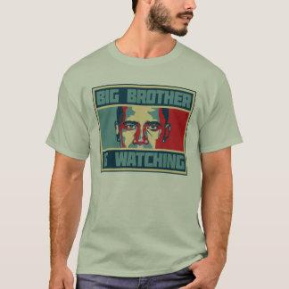 Großer Bruder Obama passt T - Shirt auf