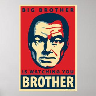 Großer Bruder - passt Sie auf: OHP Plakat