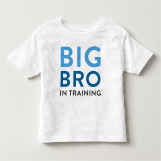 Großer Bruder-Shirt-Mitteilung, großer Kleinkind T-shirt