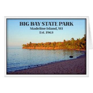 Großer Bucht-Staats-Park - besonders angefertigt Karte