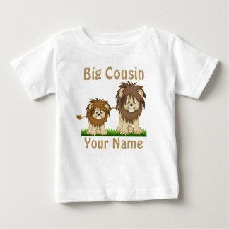 Großer Cousin-Löwe-personalisierter T - Shirt