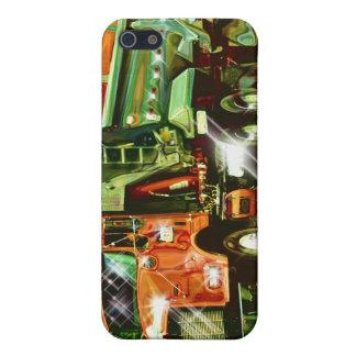 GROSSER das iPhone 4 DES ANLAGE-FRACHT-LKW-FAHRERS iPhone 5 Etui
