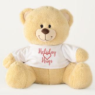 Großer Feiertag umarmt Teddybären