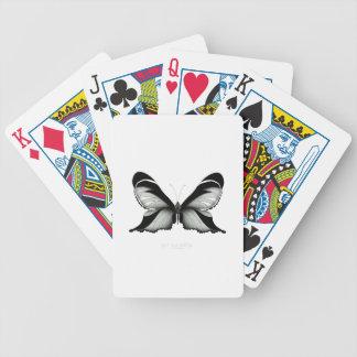 Großer Feld-Salbei-Schmetterling Bicycle Spielkarten