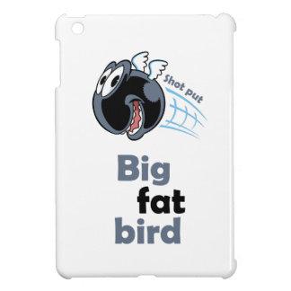 Großer fetter Kugelstoßenvogel iPad Mini Hülle