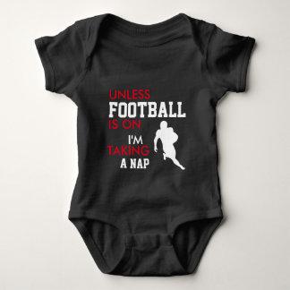 GROSSER Fußballfan-Baby-Bodysuit Baby Strampler