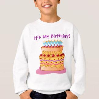 Großer Geburtstags-Kuchen Sweatshirt