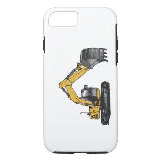 Großer gelber Bagger iPhone 8/7 Hülle