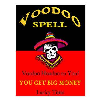 Großer Geld-Voodoo-Bann Postkarten
