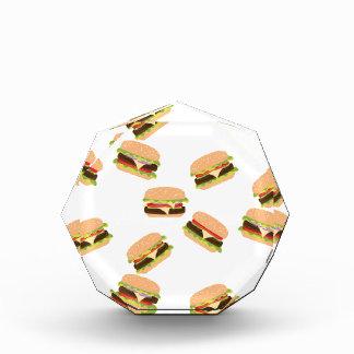 Großer geschmackvoller Burger Auszeichnung