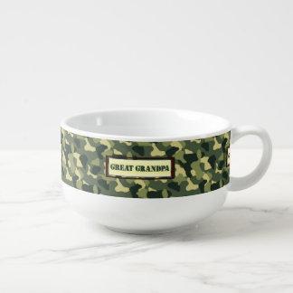Großer Großvater - Camouflage Große Suppentasse