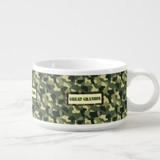 Großer Großvater - Camouflage Kleine Suppentasse