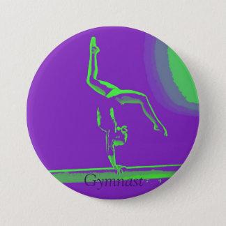 Großer Gymnastknopf Runder Button 7,6 Cm