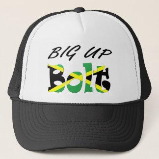 Großer hoher Bolzen-jamaikanischer Flaggen-Hut Truckerkappe