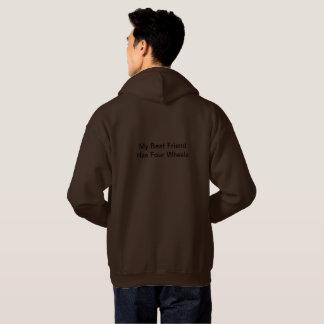 Großer Hoodie für Enthusiasten im Freien