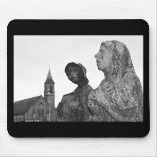 Großer Hunger von Irland-Statuen in Dublin Mauspads
