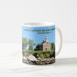 Großer Kapitän Island Lighthouse, Kaffeetasse