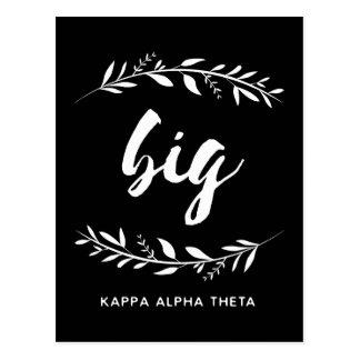 Großer Kranz des Kappa-Alpha Theta-| Postkarte