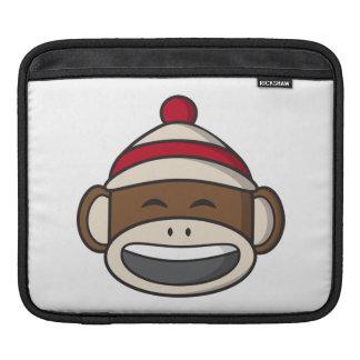 Großer Lächeln-Socken-Affe Emoji Sleeve Für iPads