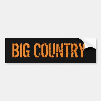 Großer Land-Redneck-Gang Autoaufkleber