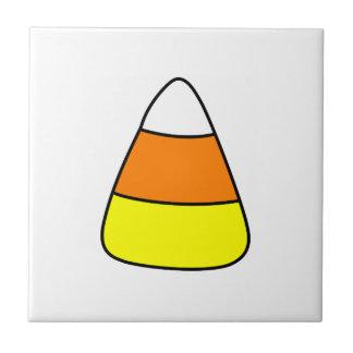 Großer mutiger Süßigkeits-Mais Kleine Quadratische Fliese