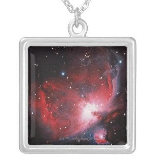 Großer Nebelfleck in Orion Versilberte Kette