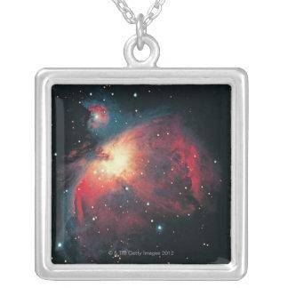 Großer Orions-Nebelfleck Versilberte Kette