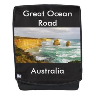 Großer Ozean-Straßen-Australien-Rucksack Rucksack