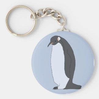 Großer Pinguin Schlüsselanhänger