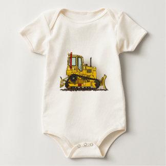 Großer Planierraupen-Bulldozer-Säuglings-Strampler Baby Strampler