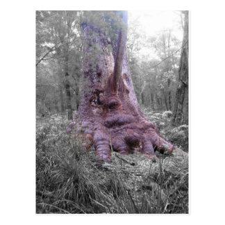 Großer Prickeln-Baum Postkarte