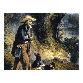 Großer Reisender Charles Lesueur durch Karl Bodmer Postkarten