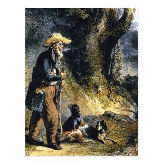 Großer Reisender Charles Lesueur durch Karl Bodmer Postkarte